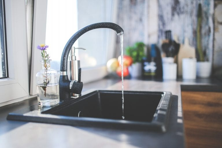 water-kitchen-black-design-768x512 DIY: Regular Sink and Drain Maintenance