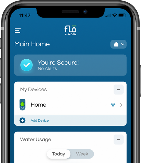 flo-app-home-dashboard Flo by Moen