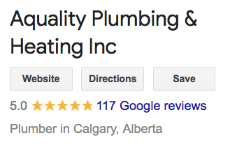 aquality-5-star-rating Poly B Pipe Repair and Replacement